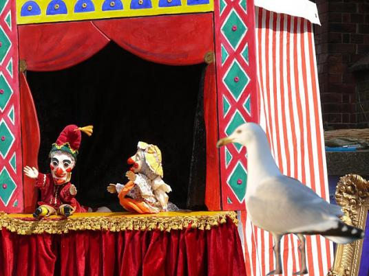 Punch & Judy at Puppet Planet